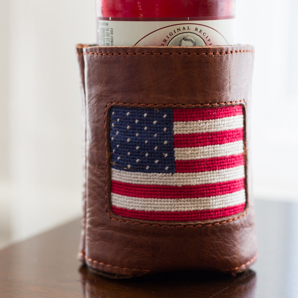 American Flag Coozie