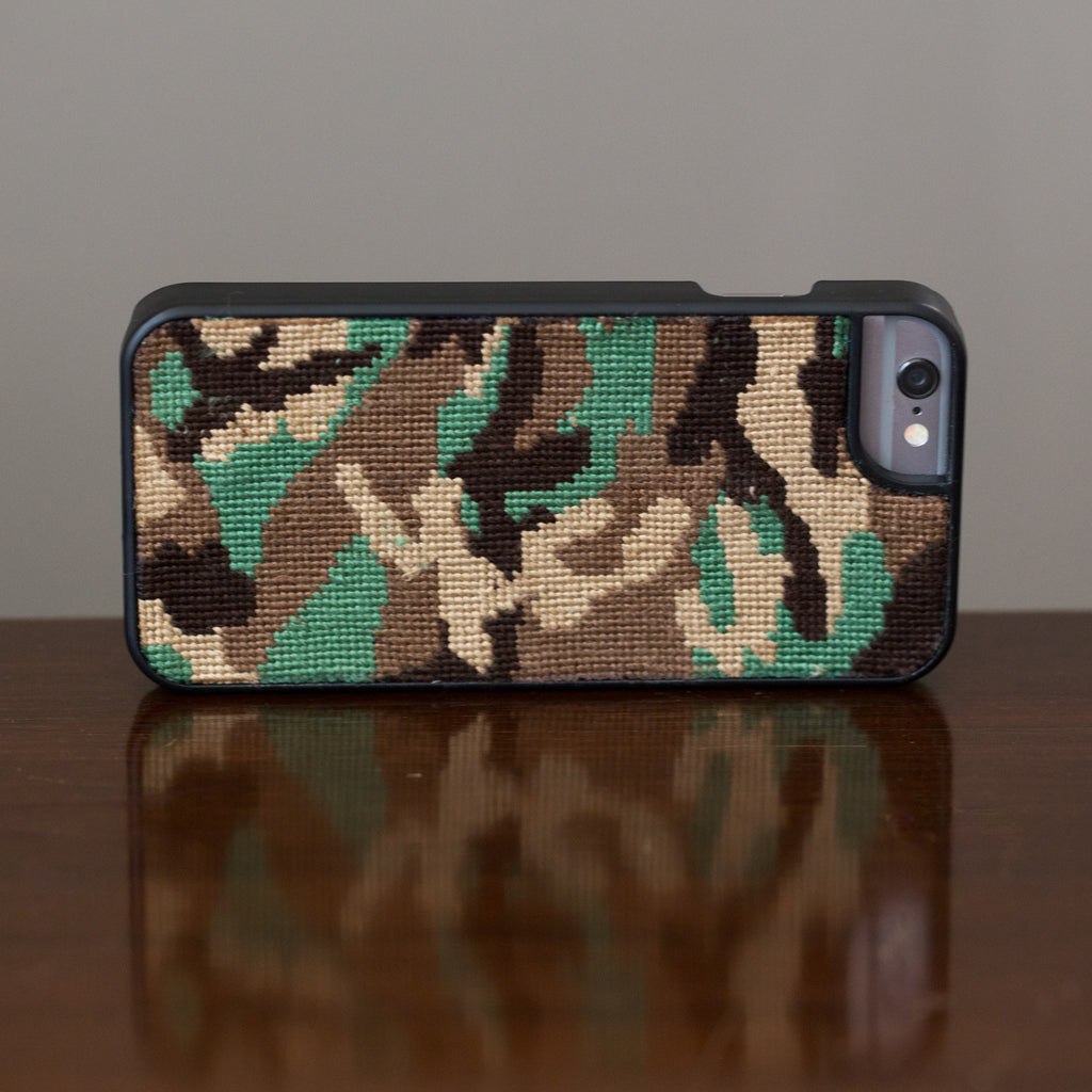 Camo iPhone 6 Black Phone Case