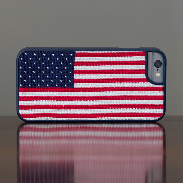 American Flag iPhone 6 Navy Phone Case