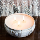 Candle 12 Oz. Triple Wick Mokara