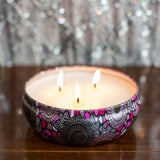 Candle 12 Oz. Triple Wick Japanese Plum Blossom