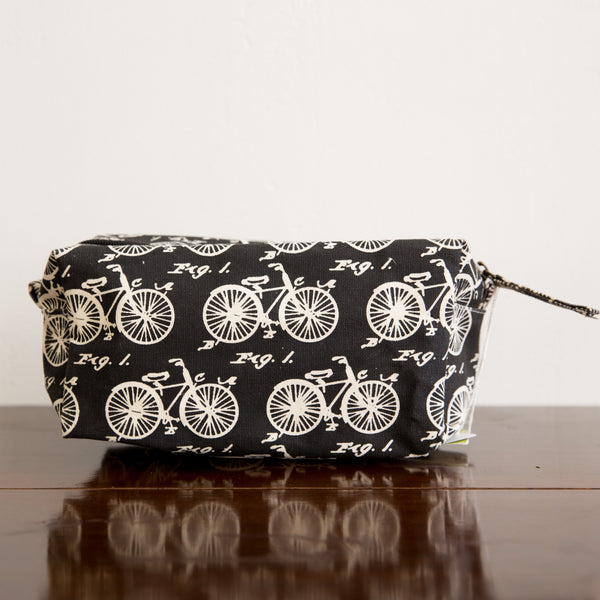 Vintage Bicycle Cosmetic Bag