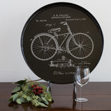 Vintage Bicycle Coco 18-inch Tray