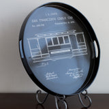 Vintage Cable Car Coco 18-inch Tray