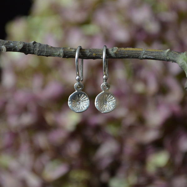 Cherry Blossom Charms with Diamonds Astrid Earrings