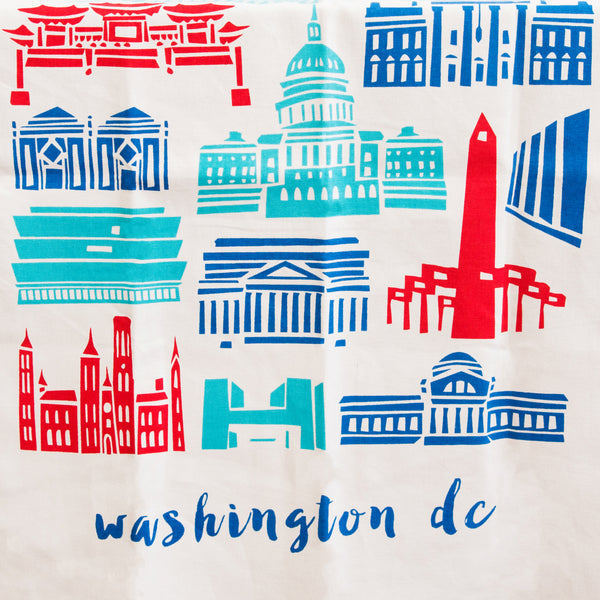 D.C. Architecture Tea Towel