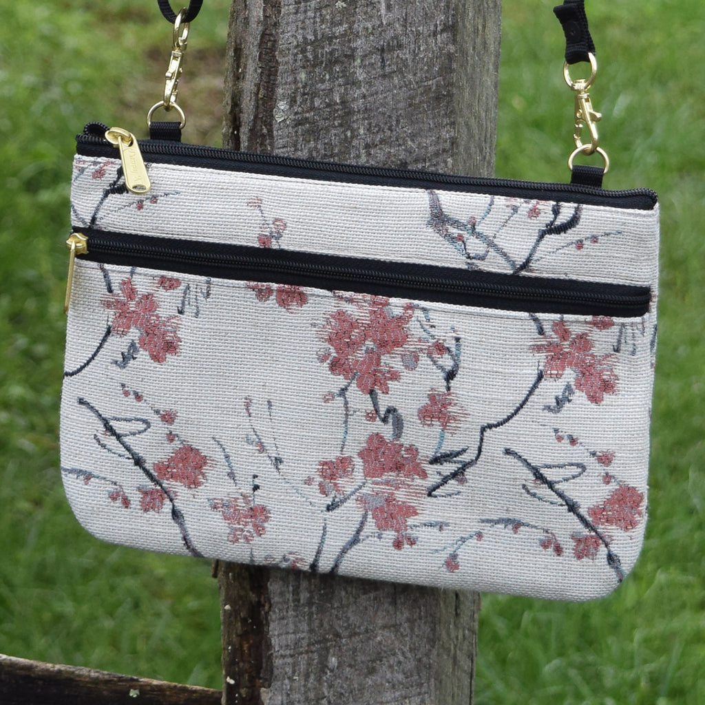 Delicate Cherry Blossom Traveler Bag