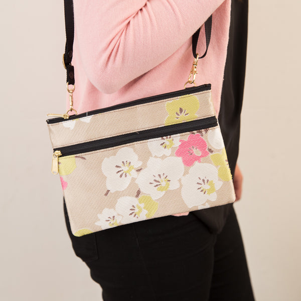 Cherry Blossom Traveler Bag