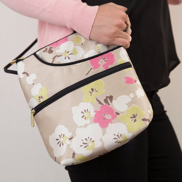 Bella Cherry Blossom Purse