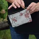 Delicate Cherry Blossom Coin Purse