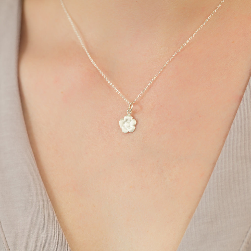 Delicate Cherry Blossom Necklace