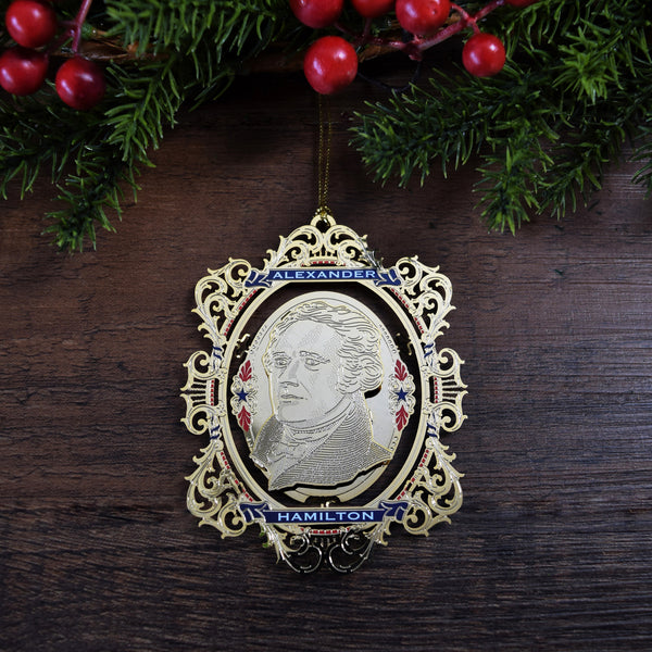 Alexander Hamilton Custom Ornament
