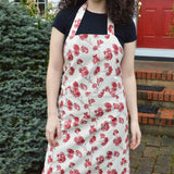 Cherry Blossom Cream and Pink Apron