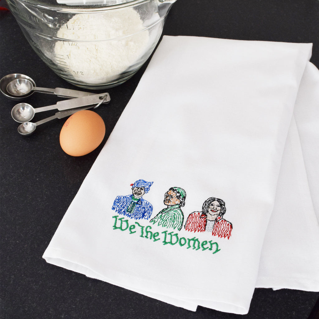 We the Women Tea Towel