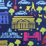 D.C. By Night Tea Towel