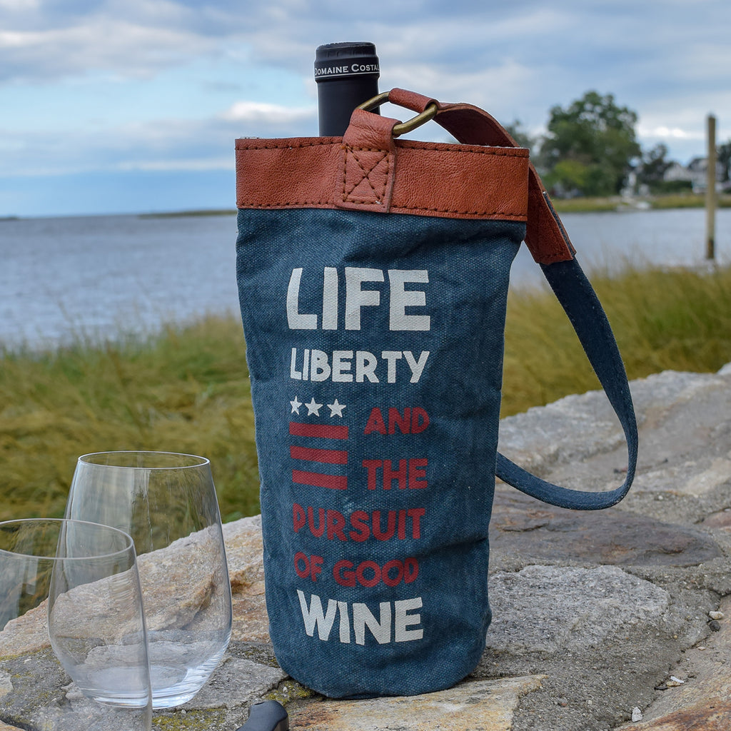 Life, Liberty and the Pursuit of Good Wine Bag