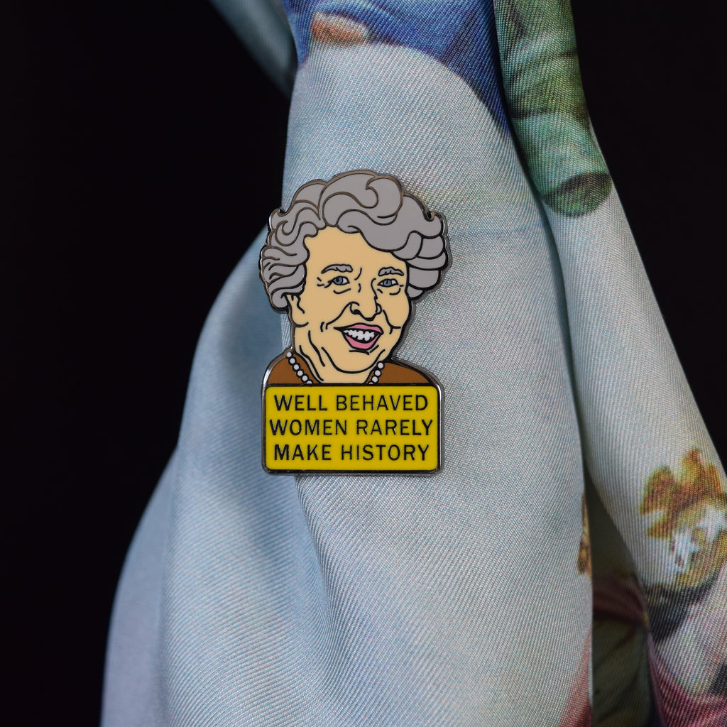 Eleanor Roosevelt Enamel Pin