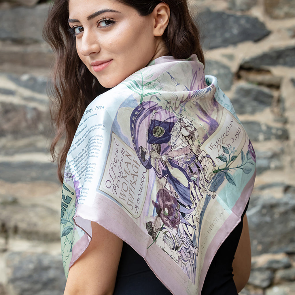Rightfully Hers Silk Scarf