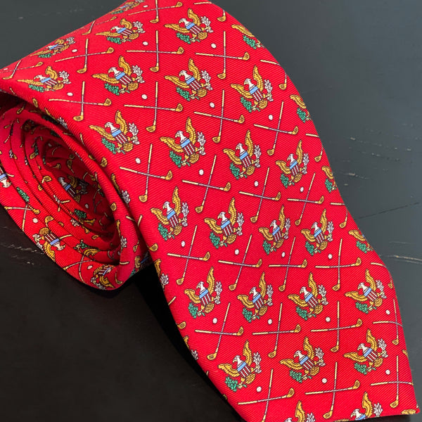 Presidential Golf Necktie