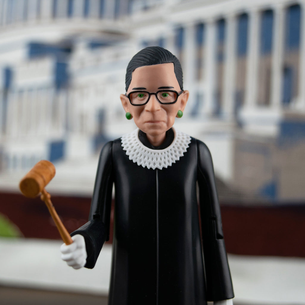 GENUINE Ruth Bader Ginsburg RBG Real Life Action Figure NEW IN BOX
