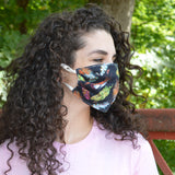 Feather Womens Face Mask