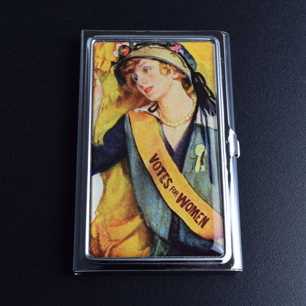 Votes For Women Card Case