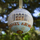 National Archives Ball Ornament
