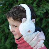 Plush Cat Earmuffs
