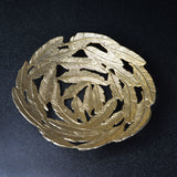Small Gold Leaf Decorative Bowl