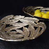 Large Gold Leaf Decorative Bowl