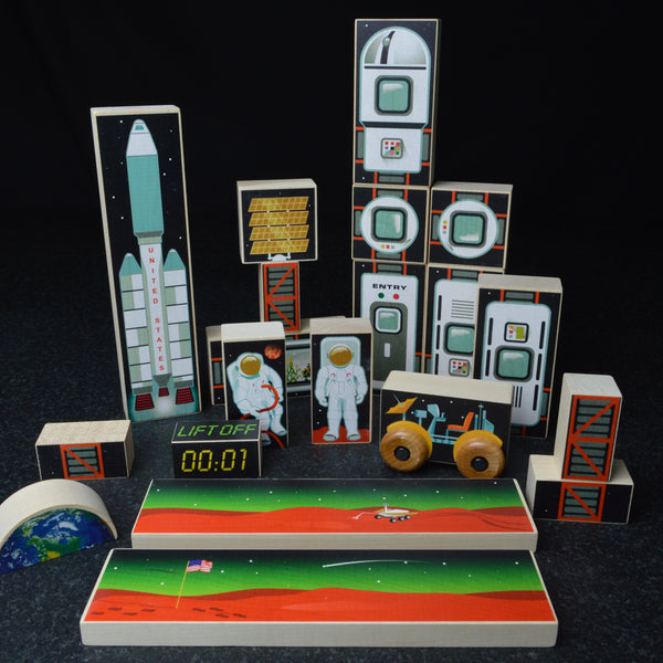 Space Mission One Block Set