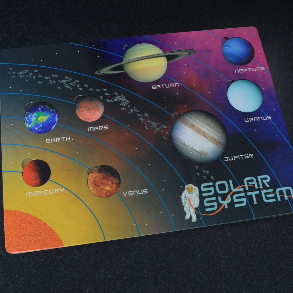 Lift and Learn Solar System Puzzle