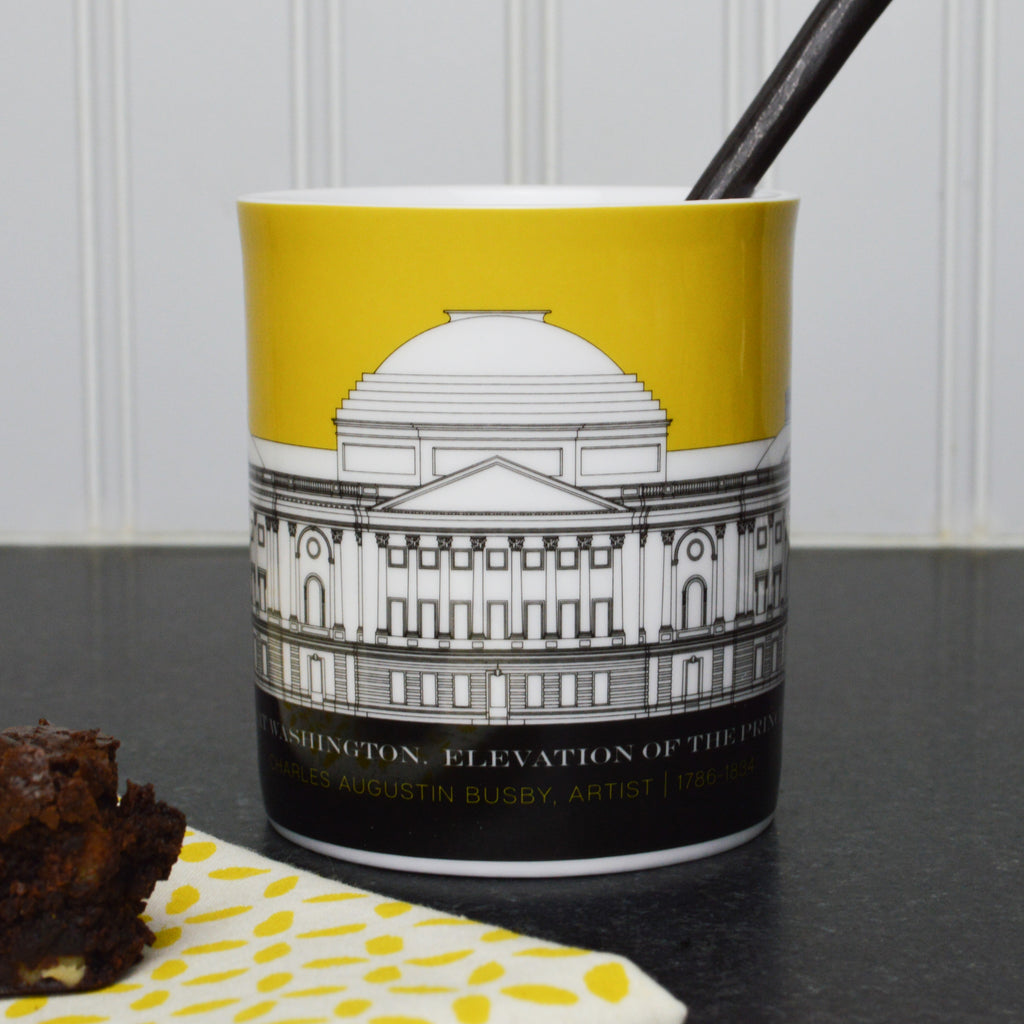 Capitol Plans 11 Ounce Yellow Mug