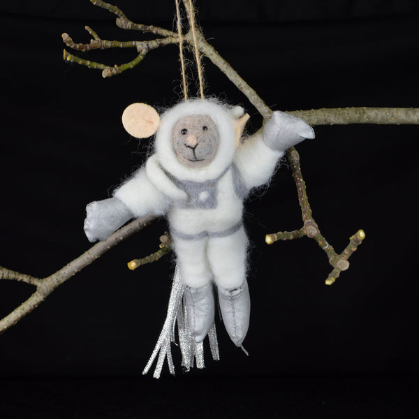 Moustronaut Ornament