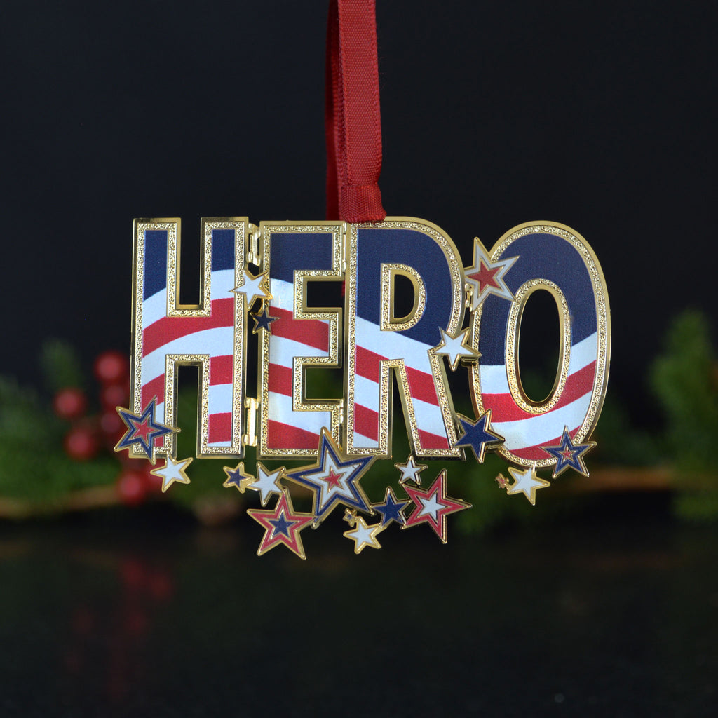 Hero Ornament