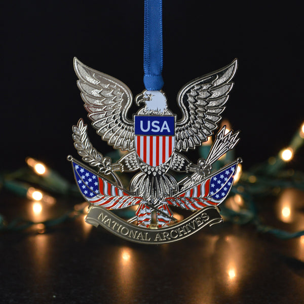 Patriotic Scene Ornament
