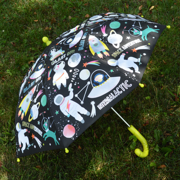 Color Changing Kids Space Umbrella