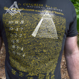National Treasure Reveal Code T-Shirt