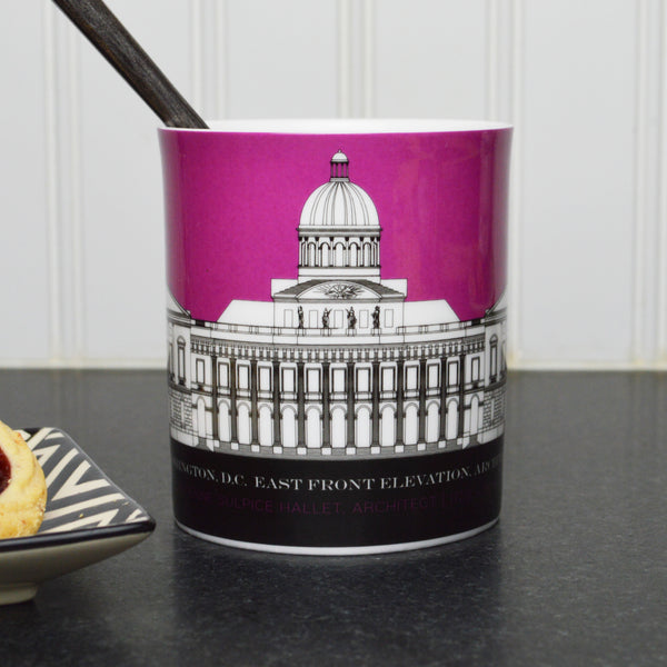 Capitol Plans 11 Ounce Purple Mug