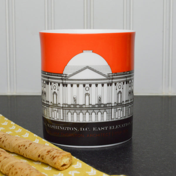 Capitol Plans 11 Ounce Orange Mug