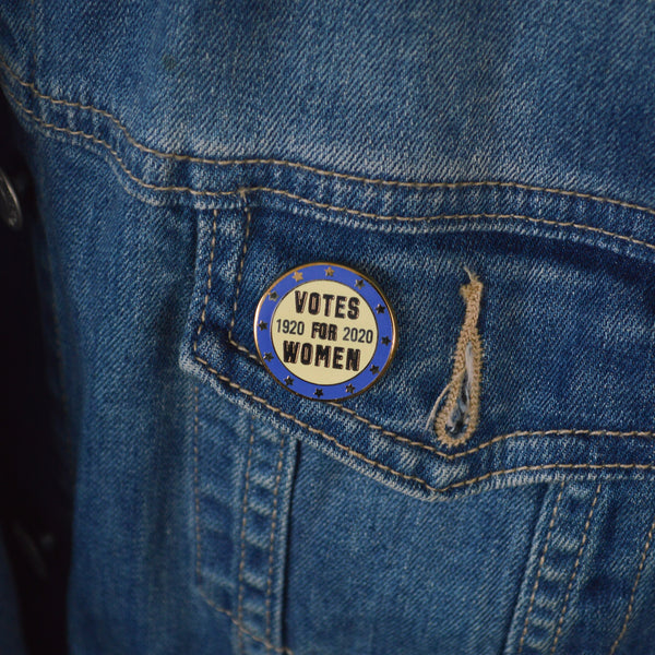 Votes for Women 1920-2020 Enamel Pin