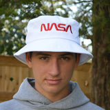 NASA Worm Logo Bucket Hat