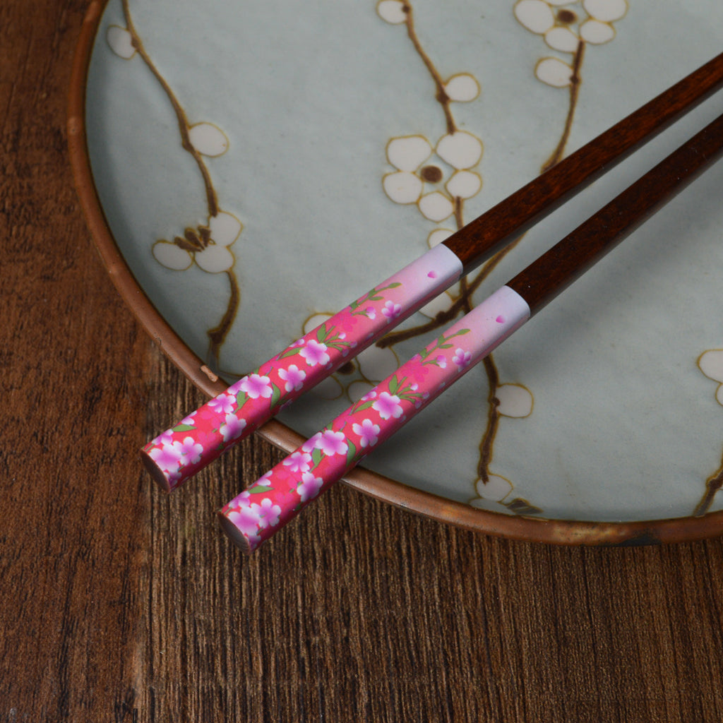Dusk Sky and Sakura Chopsticks