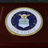 U.S. Air Force Medallion Wooden Box