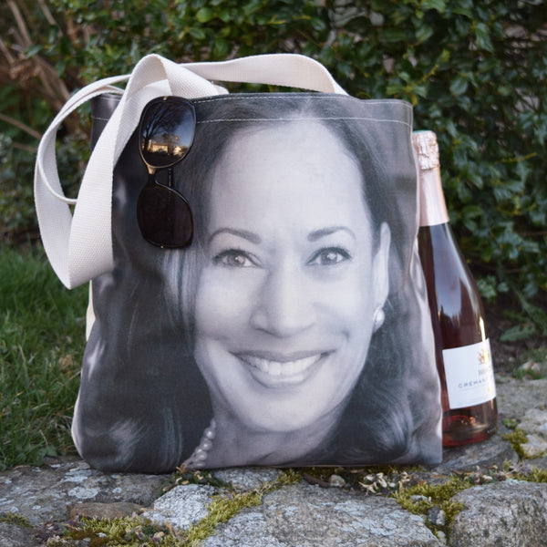Kamala Harris Tote Bag
