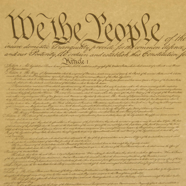 u s  constitution poster 1 page  u2013 national archives store