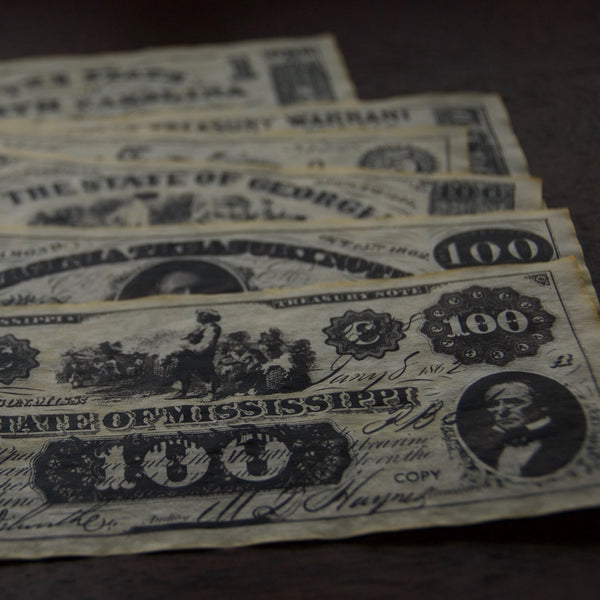 Historic Confederate Currency Replica