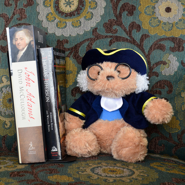 Ben Franklin Bear Plush