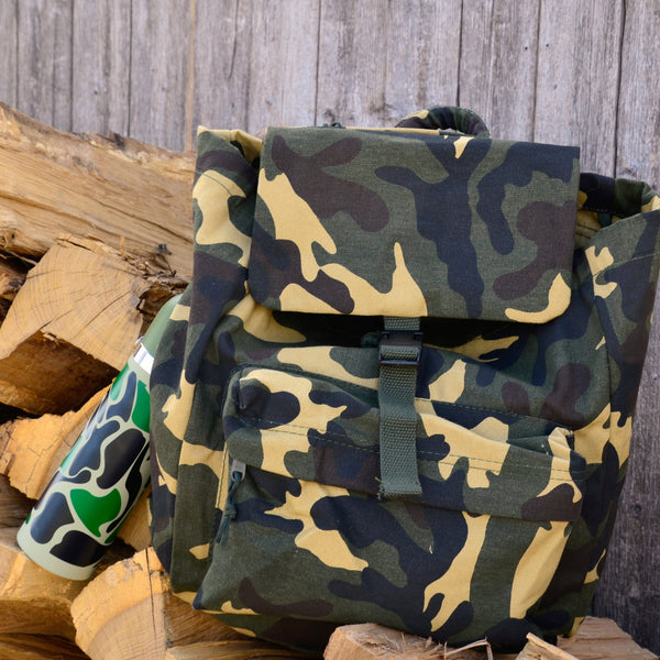 Camo Day Pack Backpack