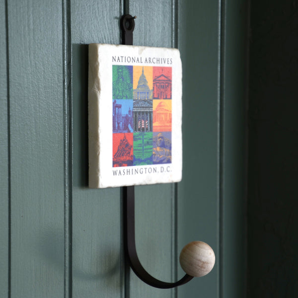 Capital Landmarks Art Coat Hook